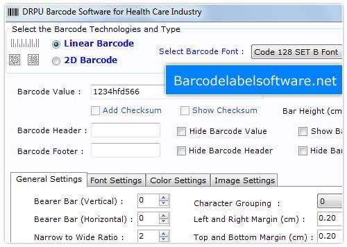 Healthcare Barcodes