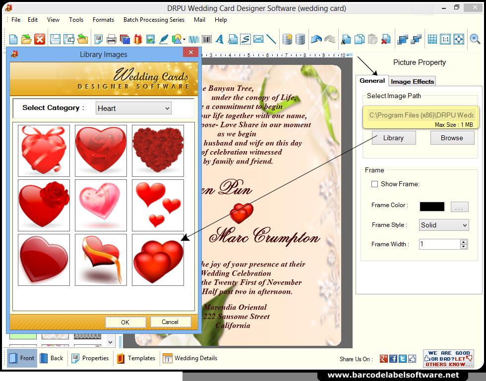 Software Wedding Invitations: Neonhonest